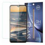 Nokia 5.3 kijelzővédő edzett üvegfólia (tempered glass) 9H keménységű (nem teljes kijelzős 2D sík üvegfólia), átlátszó