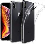 iPhone Xs Max Ultra Slim 0.5mm szilikon hátlap, tok, átlátszó