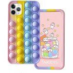 """Anti-Stress Case iPhone 12 Mini 5.4"""" tok, hátlap, színes"""