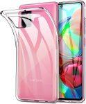 Samsung Galaxy A71 5G Ultra Slim 0.5mm szilikon hátlap, tok, átlátszó