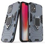 Armor Ring iPhone 12 Mini ütésálló hátlap, tok, sötétkék