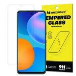 Huawei P Smart (2021)/Y7A/Honor 10X Lite kijelzővédő edzett üvegfólia (tempered glass) 9H keménységű (nem teljes kijelzős 2D sík üvegfólia), átlátszó