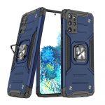Wozinsky Armor Ring Samsung Galaxy S20 Plus ütésálló hátlap, tok, sötétkék