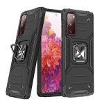 Wozinsky Armor Ring Samsung Galaxy S20 FE ütésálló hátlap, tok, fekete