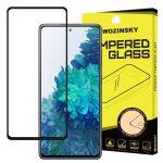 Wozinsky Samsung Galaxy A72 5D Full Glue teljes kijelzős edzett üvegfólia (tempered glass) 9H keménységű, tokbarát, fekete