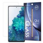 Samsung Galaxy A72 5G/A72 4G kijelzővédő edzett üvegfólia (tempered glass) 9H keménységű (nem teljes kijelzős 2D sík üvegfólia), átlátszó