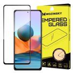 Wozinsky Xiaomi Redmi Note 10 Pro 5D Full Glue teljes kijelzős edzett üvegfólia (tempered glass) 9H keménységű, tokbarát, fekete