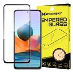 Wozinsky Xiaomi Redmi Note 10/Note 10S 5D Full Glue teljes kijelzős edzett üvegfólia (tempered glass) 9H keménységű, tokbarát, fekete