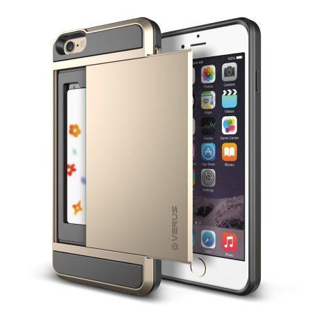 VRS Design (VERUS) iPhone 6 Plus/6S Plus Damda Slide hátlap, tok, arany