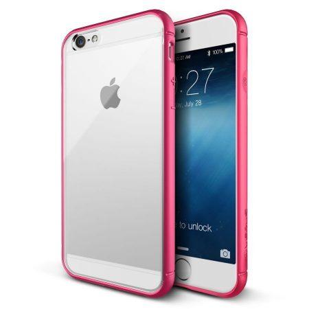VRS Design (VERUS) iPhone 6 Plus/6S Plus Crystal MIXX hátlap, tok, átlátszó-rózsaszín