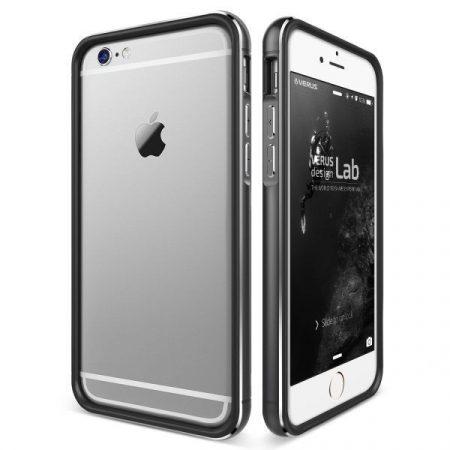 VRS Design (VERUS) iPhone 6 Plus/6S Plus IRON BUMPER hátlap, tok, fekete-titanium