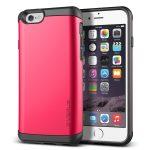 VRS Design (VERUS) iPhone 6/6S Damda Veil hátlap, tok, rózsaszín