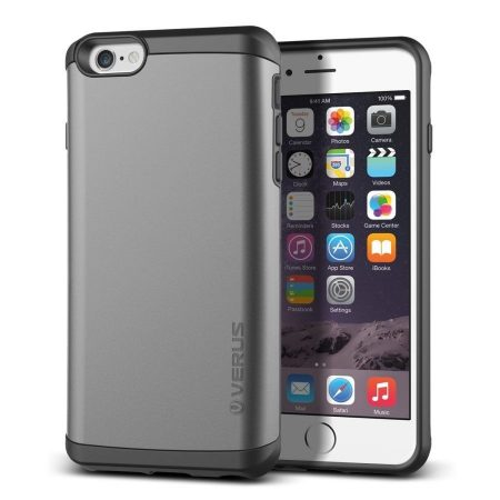 VRS Design (VERUS) iPhone 6 Plus/6S Plus Damda Veil hátlap, tok, acélezüst