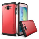 VRS Design (VERUS) Samsung Galaxy A7 (2015) Hard Drop hátlap, tok, piros