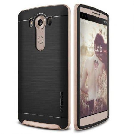 VRS Design (VERUS) LG V10 High Pro Shield hátlap, tok, arany