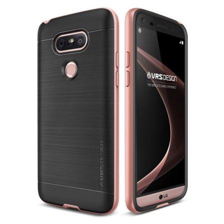 VRS Design (VERUS) LG G5 High Pro Shield hátlap, tok, rozé arany