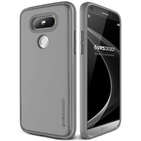 VRS Design (VERUS) LG G5 Single Fit hátlap, tok, sötétszürke