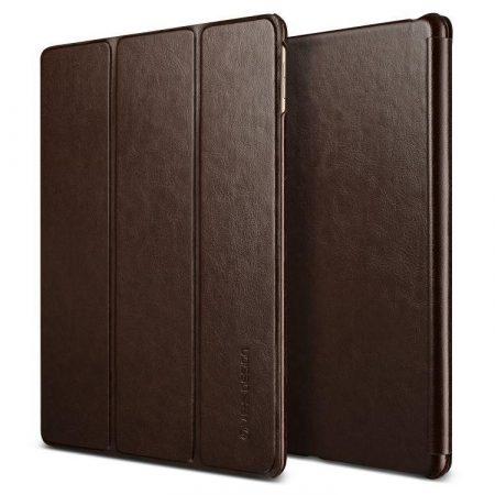 VRS Design (VERUS) iPad Pro 9,7 Dandy K1 mágneses oldalra nyíló bőr tok, barna