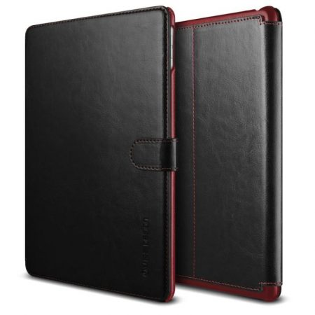 VRS Design (VERUS) iPad Pro 9,7 Dandy Layered K with Stiching tok, fekete