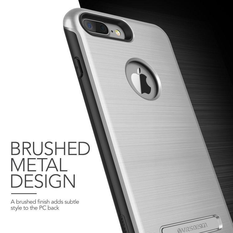 12a7c369d1 VRS Design (VERUS) iPhone 7 Plus Duo Guard hátlap, tok, ezüst - TOK ...