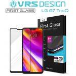 VRS Design (VERUS) LG G7 First Glass teljes kijelzős 3D edzett üvegfólia, fekete