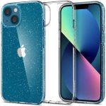 Spigen Liquid Crystal Glitter iPhone 13 hátlap, tok, átlátszó