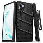 Zizo Bolt Cover Samsung Galaxy Note 10 ütésálló hátlap, tok, fekete