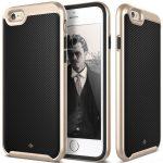 Caseology iPhone 6/6S (5.5'') Plus Envoy Series Carbon hátlap, tok, karbon fekete