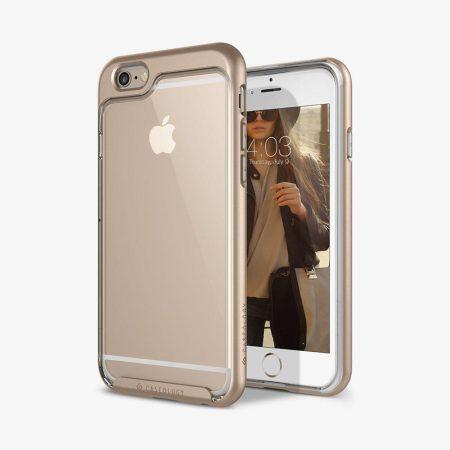 Caseology iPhone 6/6S (5.5'') Plus Skyfall Series hátlap, tok, arany