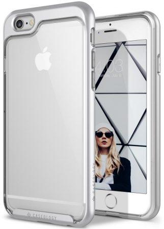 Caseology iPhone 6 Plus/6S Plus Skyfall Series hátlap, tok, ezüst