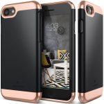 Caseology iPhone 7 (5.5'') Plus Savoy Series hátlap, tok, fekete