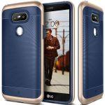Caseology LG G5 Wavelength Series hátlap, tok, sötétkék