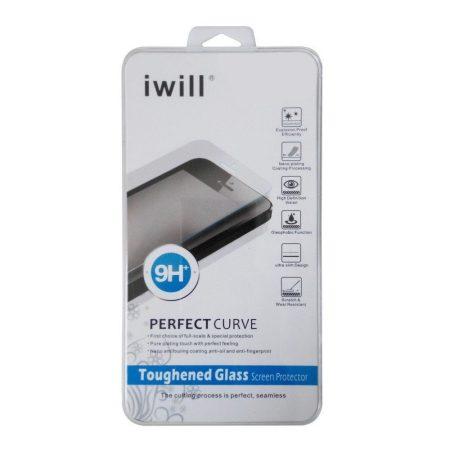 Iwill HTC M9 edzett üvegfólia (tempered glass) 9H keménységű, átlátszó