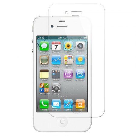Iwill iPhone 4 edzett üvegfólia (tempered glass) 9H keménységű, átlátszó