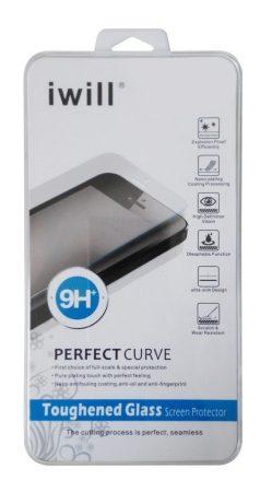Iwill LG G3 kijelzővédő edzett üvegfólia (tempered glass) 9H keménységű, átlátszó