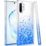 Diamond Liquid Samsung Galaxy A41 hátlap, tok, kék