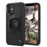 Spigen Gearlock iPhone 12 Mini Bike Mount hátlap, tok, fekete