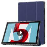 Tech-Protect Smartcase Huawei Mediapad M5 Lite 10.8/M5 Pro oldalra nyíló okos tok, kék