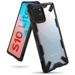 Ringke Fusion X Samsung Galaxy S10 Lite/A91 hátlap, tok, fekete