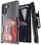 GHOSTEK Samsung Note 10 Iron Armor 3 ütésálló hátlap, tok, fekete