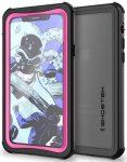GHOSTEK iPhone X/Xs Nautical vízálló, ütésálló tok, rózsaszín