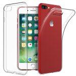Slim Case iPhone 7/8 1mm szilikon hátlap, tok, átlátszó