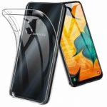 Slim Case Samsung Galaxy A20e 1mm szilikon hátlap, tok, átlátszó