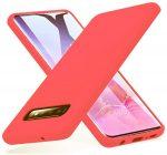 Silicone Case Samsung Galaxy S10 hátlap, tok, rózsaszín