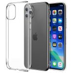 iPhone 11 Pro Max Ultra Slim 0,5mm szilikon hátlap, tok, átlátszó
