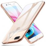 iPhone 7 Plus/8 plus 1,8mm szilikon hátlap, tok, átlátszó