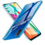Samsung Galaxy A41 Slim case 1mm, szilikon hátlap, tok, átlátszó