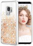 Liquid Sparkle Samsung Galaxy Note 10 Lite/A81 hátlap, tok, arany