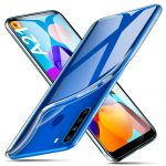 Samsung Galaxy A21 Slim case 1mm szilikon hátlap, tok, átlátszó