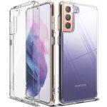 Samsung Galaxy S21 Plus 1.8mm szilikon hátlap, tok, átlátszó